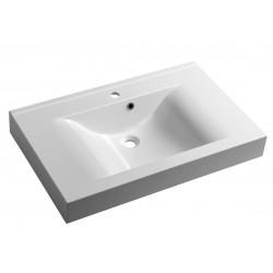 FLAVIA umywalka kompozytowa 80x50cm, biała