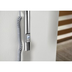 PASADOR elektryczny wieszak na ręczniki z wył. czasowym, okrągły 150x1500 mm