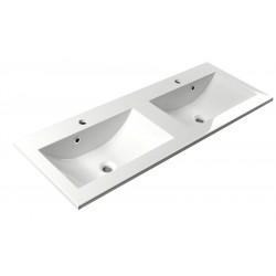 YUKON umywalka kompozytowa 120x45cm, biała