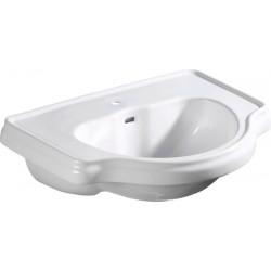 RETRO umywalka wpuszczana w blat 62x45,5cm