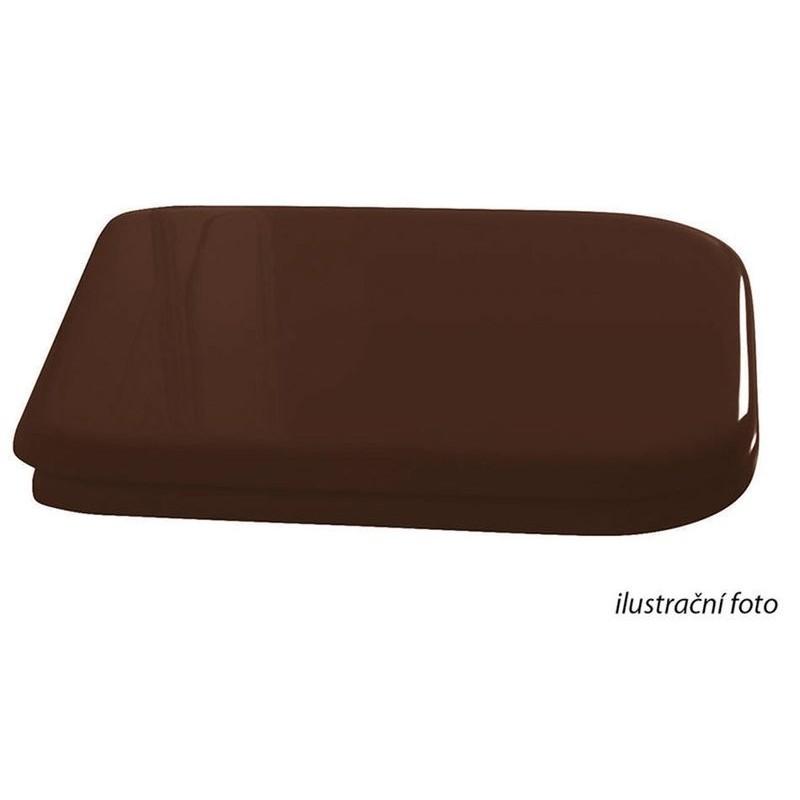 WALDORF deska WC Soft Close, drzewo, orzech/ brąz