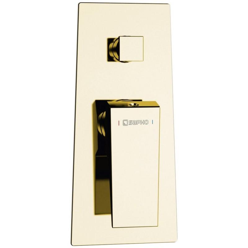 MORADA bateria prysznicowa podtynkowa 2 wyjścia, złoto