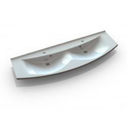 ARAS umywalka kompozytowa 150x51cm, biała