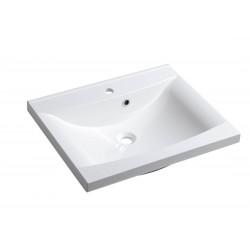 LUCIOLA umywalka kompozytowa 60x48cm, biała