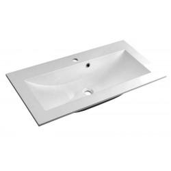 YUKON umywalka kompozytowa 90x45cm, biała