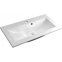 YUKON umywalka kompozytowa 80x45cm, biała
