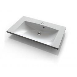 MARIA umywalka kompozytowa 75x46cm, biała