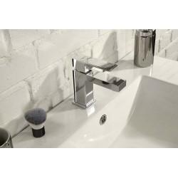 LATUS bateria umywalkowa bez odpływu, chrom