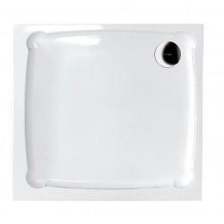 DIONA90 brodzik kompozytowy, kwadrat 90x90x7,5cm