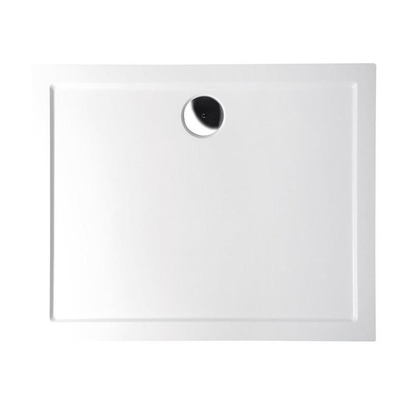 KARIA brodzik prysznicowy kompozytowy, prostokąt 90x80x4cm, biała