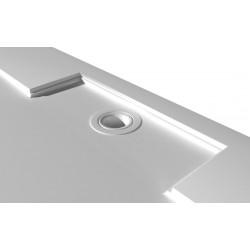 IRENA brodzik kompozytowy, prostokąt 160x90x3,5cm