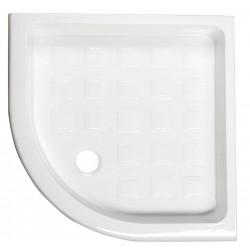 RETRO brodzik prysznicowy ceramiczny, półokrągły 90x90x20cm, R550