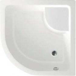 Brodzik prysznicowy, akrylowy półokrągły 90x90x28cm z nóżkami, R550