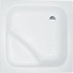 VISLA brodzik prysznicowy głęboki, akrylowy, kwadrat 80x80x27cm,