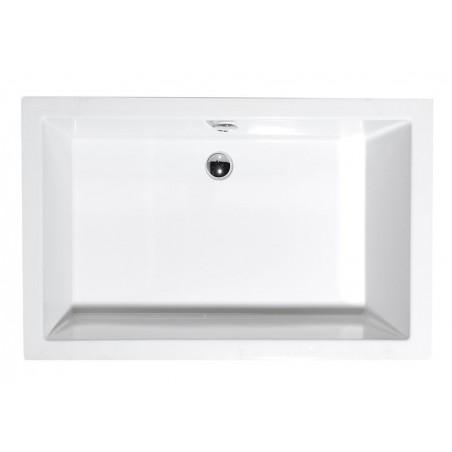 DEEP 110x90 brodzik prysznicowy głęboki 110x90x26cm, biały