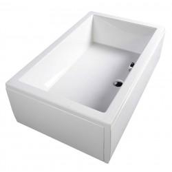 DEEP 110x75 brodzik głęboki 110x75x26cm, biały