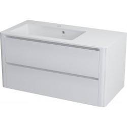 LUCIE szafka umywalkowa 89,5x45x44,5cm, biała