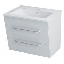 KALI szafka umywalkowa 59x50x45cm, biała