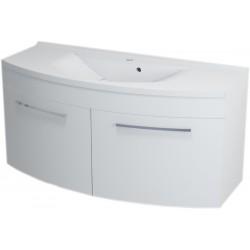 JULIE szafka umywalkowa 120x55x50cm, biała