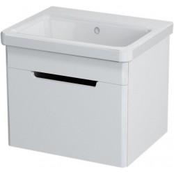 ELLA szafka umywalkowa 56,5x39x43cm, biała