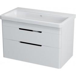 ELLA szafka umywalkowa 76,5x50x43cm, biała