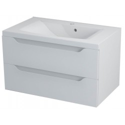 WAVE szafka umywalkowa 80x45x48cm, biała
