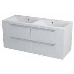 WAVE szafka umywalkowa 120x50x48cm, biała