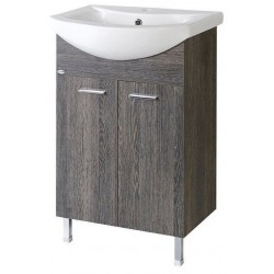ZOJA szafka umywalkowa 42x74x25cm, mali wenge