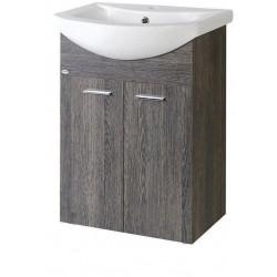 ZOJA szafka umywalkowa 61,5x74x32,5cm, mali wenge