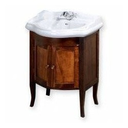 RETRO szafka umywalkowa 60x80x45, buk
