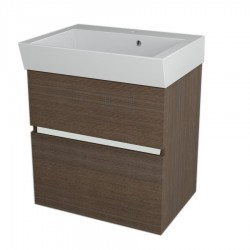 LARGO szafka umywalkowa 59x60x41cm, sosna rustikalna