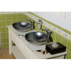 BRAND szafka umywalkowa 100x73x50cm, starobiała