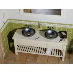 BRAND szafka umywalkę 160x73x50cm, starobiała