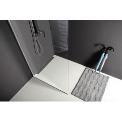 MODULAR SHOWER jednoczęściowa ścianka do montażu do ściany, 700 mm