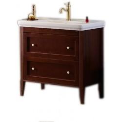 CROSS szafka umywalkowa 85x81x47cm, 2 szuflady, mahoń