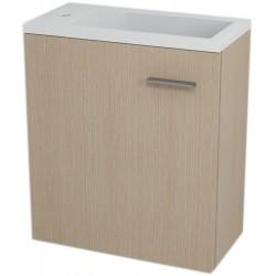 LATUS IV szafka umywalkowa 49,5x50x25 cm, sosna rustikalna