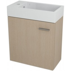 LATUS IV szafka umywalkowa 49,5x50x25 cm, dąb wenecki