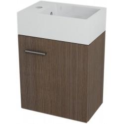 LATUS V szafka umywalkowa 35,6x40x23 cm, sosna rustikalna