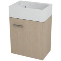 LATUS V szafka umywalkowa 35,6x40x23 cm, dąb wenecki