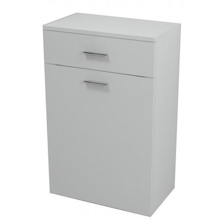ZOJA/KERAMIA FRESH szafka dolna z koszem 50x78x29cm, biała