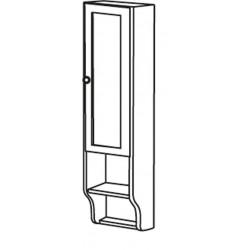 RETRO szafka do lustra 25x115x20cm, starobiała