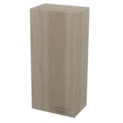 ZOJA/KERAMIA FRESH szafka wisząca 35x76x23cm, lewa, dąb platin