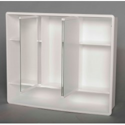 LYMO szafka z lustrem 58x49x14,7cm, plastik
