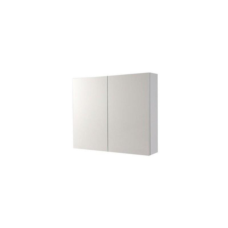 VEGA szafka z lustrem, 80x70x18cm, biała