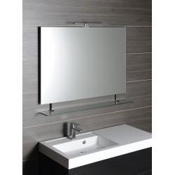 WEGA lustro 900x800mm, z półką