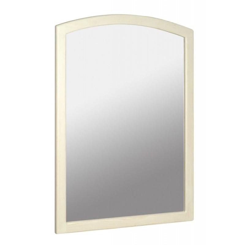 RETRO lustro 65x91cm, starobiałe