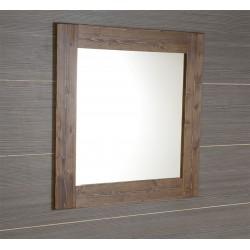 BRAND lustro 80x80x2cm, świerk bejcowany