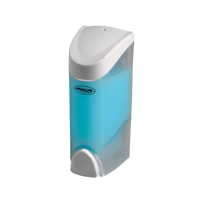 Dozownik płynnego mydła do powieszenia, 300 ml, biały