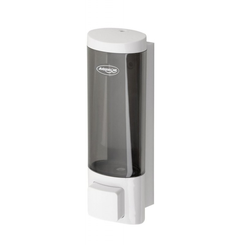 Dozownik płynnego mydła do powieszenia, 200ml, biały