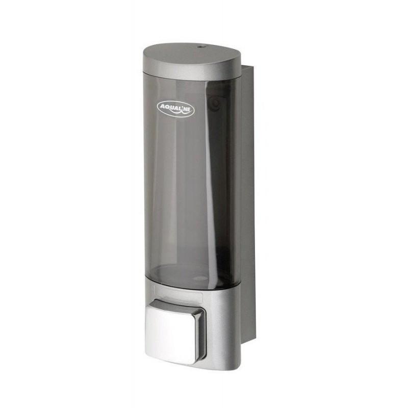 Dozownik płynnego mydła do powieszenia, 200ml, chrom